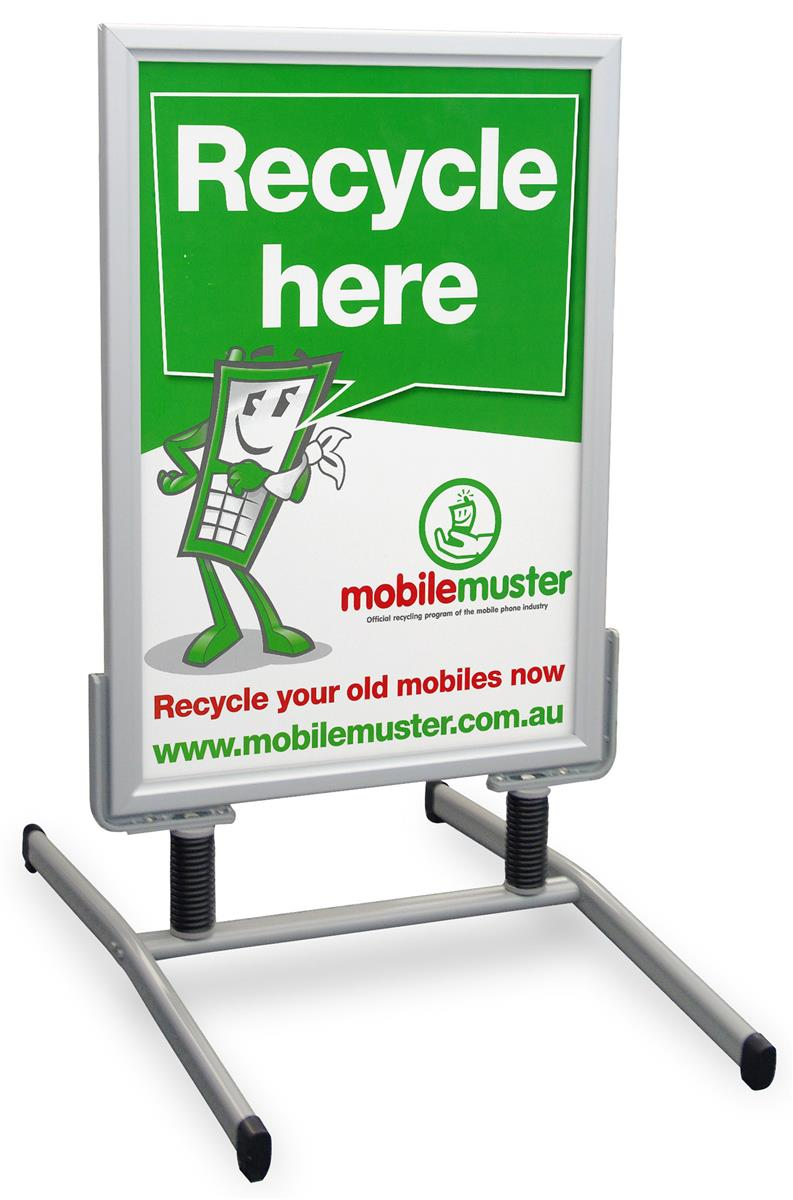 These sidewalk signs are light weight and portable these - Porta poster amazon ...