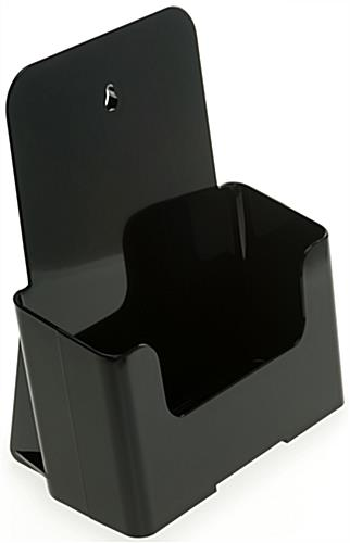 Black 6.5x8 Brochure Holder