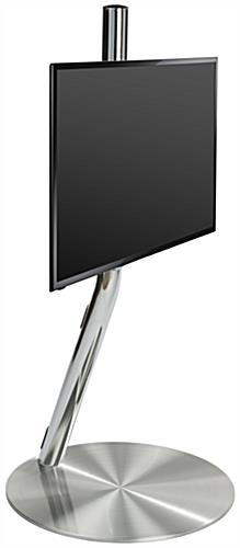 Chrome Tv Floor Stands Cable Management System