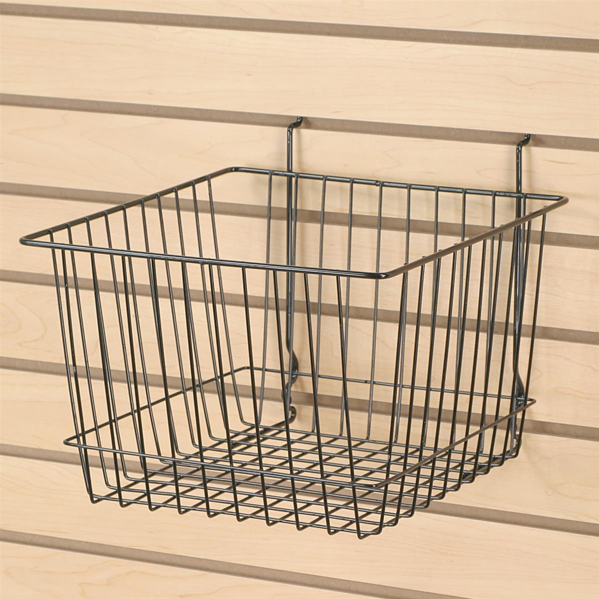 these wire baskets are easy to install hanging containers