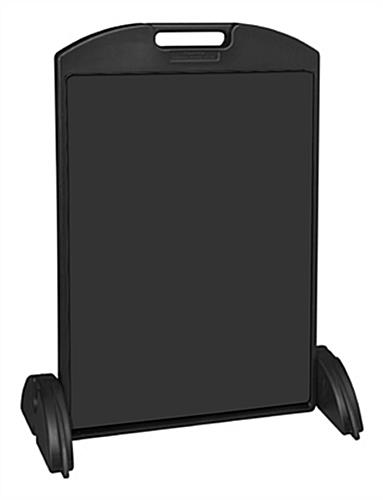 black a-boards