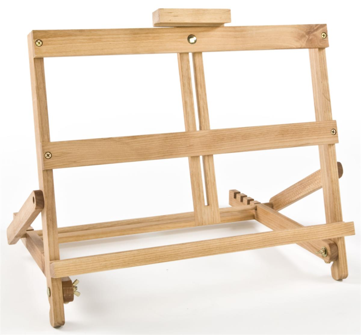 Folding easel solid beech wood frame display for How to display picture frames on a table