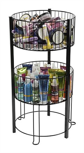 2 Tier Basket Stand