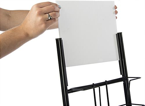 Slide-In Sign Holder