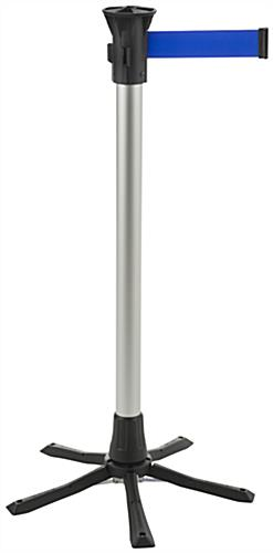 collapsible crowd control stanchions sold as set of 4