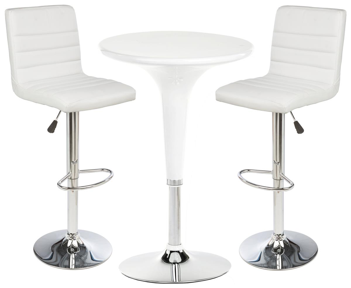 White Bar Table Amp Chair Set High Quality Restaurant