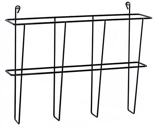 Cubicle Wall Organizer Includes Hooks for Placing Over Partitions