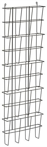 Wire Wall Pocket Organizer, Five Compartments