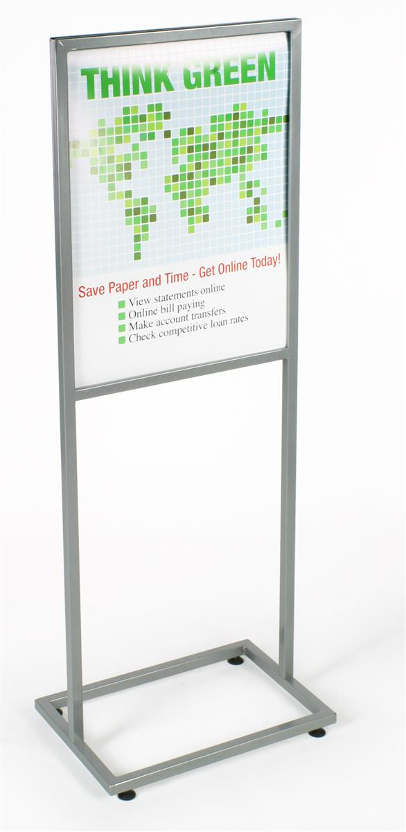 These Floor-Standing Poster Frames For Retail Use ...