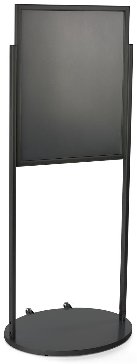 Black Aluminum Portable Graphics Frame | 22 x 28 Poster Holder