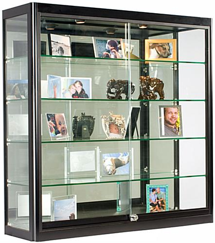 curio cabinets wall mounted 1