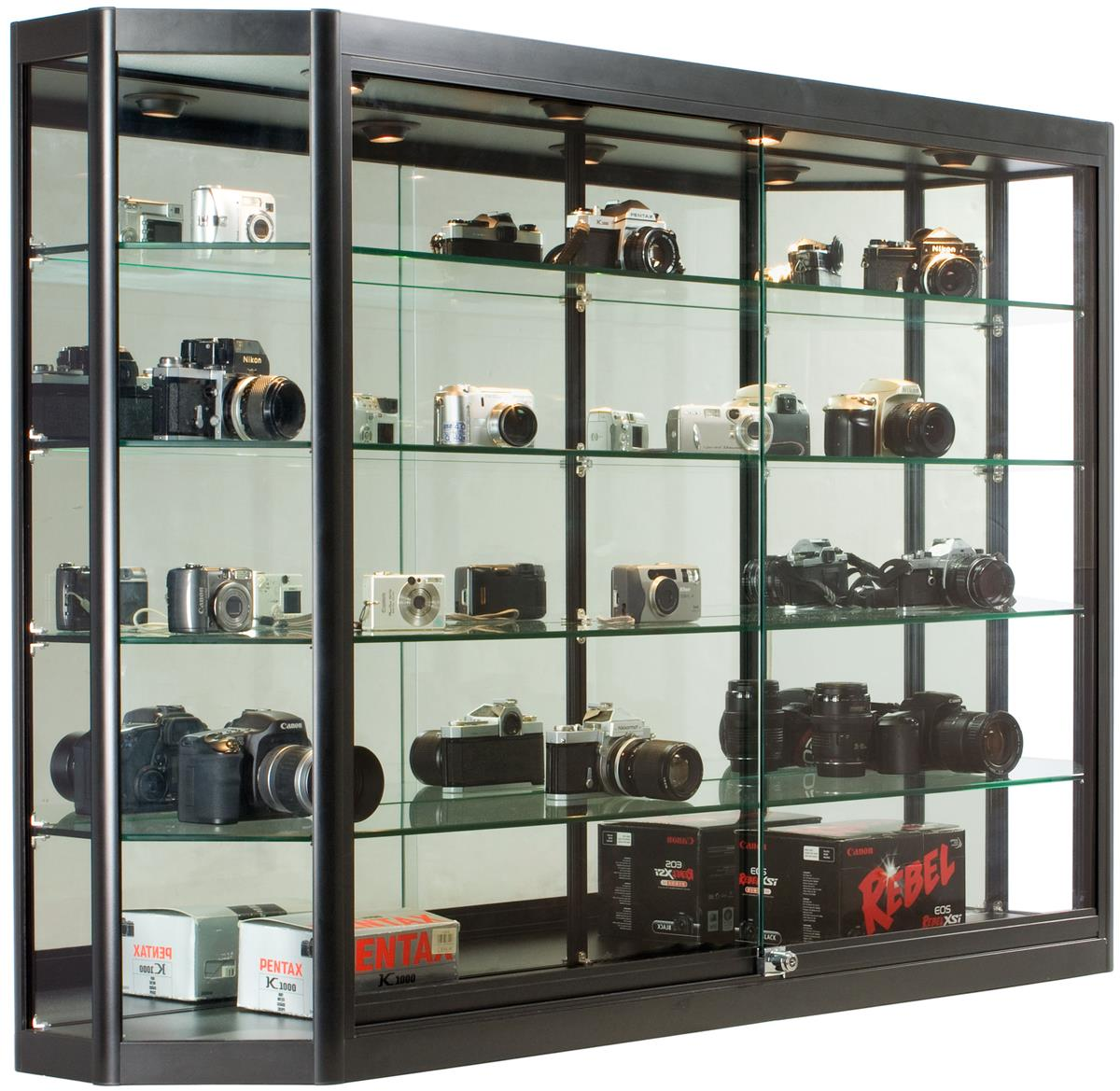 these extra deep trophy cases for sale are one of the largest display cabinets we have in our. Black Bedroom Furniture Sets. Home Design Ideas
