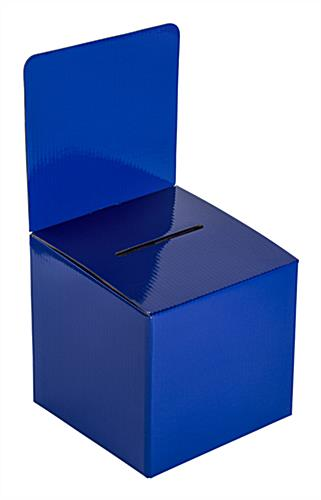Lightweight Blue Cardboard Entry Box