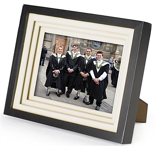 "8"" x 10"" Matted Picture Frames for Tabletop or Wall Mount"