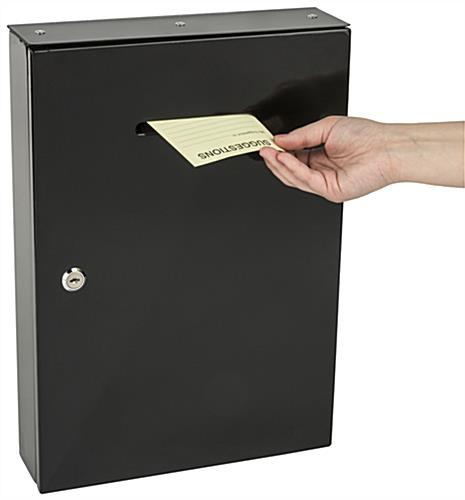Wall Mounting Drop Box - Large