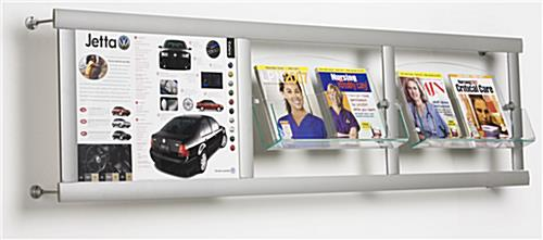 wall mounted catalog displays