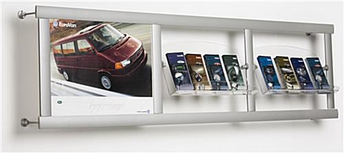 wall mounted leaflet displays