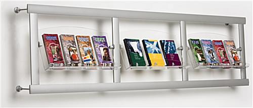 wall mounted brochure displays