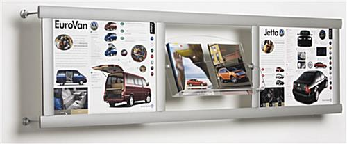 wall mounted magazine racks