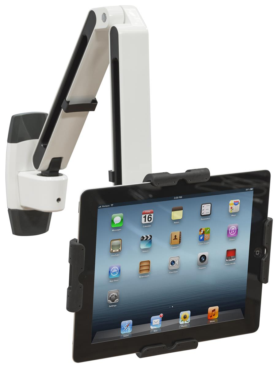 Locking android tablet wall mount universal secure for Ipad o android