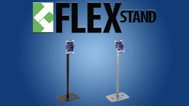Feature Demo: FlexStand Adjustable Floor Stand