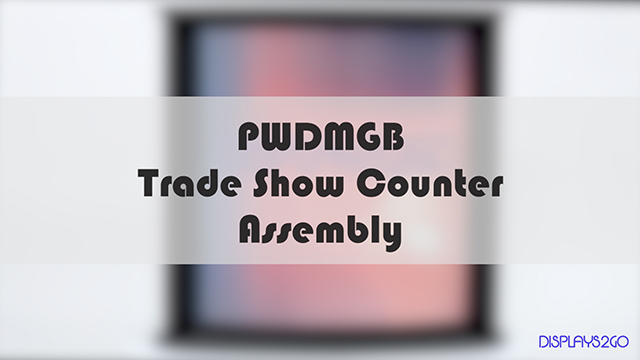 <p>Setting up your trade show counter shouldn't be a hassle. This quick video guides you through the process of assembling your display and applying graphics. Check out our tips and tricks to get your trade show counter set up in minutes.</p>