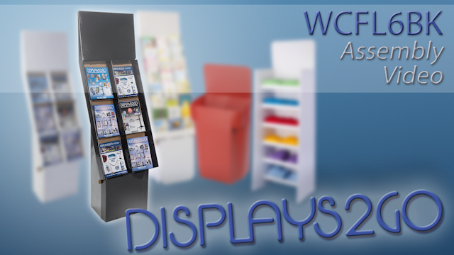 <p>This retail store display can be quickly assembled with no tools needed.  Watching the video and following the steps provided, you can have a sturdy display to show off your products in no time. Add your own graphics to the header if desired for incresed promotional usage. </p>