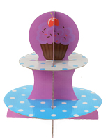 (2) Tier Cupcake Stand