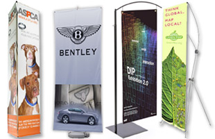 Pole Banner Stands