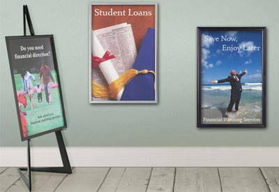 24x36 Poster Frames | Commercial Graphics Display Framing