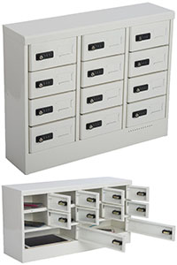 Cell Phone Lockers with Individual Compartments