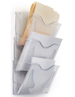 Clear Wall File Folder for Letter & Legal Size Papers