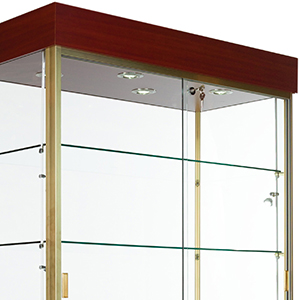 31 to 40 inch wide display cases