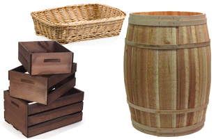 Natural Wicker Baskets