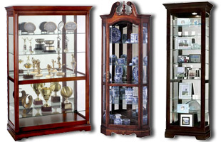 wooden display cases merchandise collectibles sports trophies. Black Bedroom Furniture Sets. Home Design Ideas