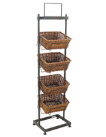 4 Tier Basket Stand