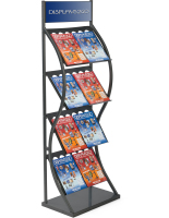 Knock Down Pop Up Magazine Rack