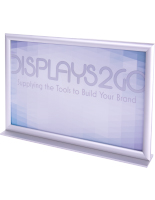 17 x 11 Stand Up Sign Holder with Frame