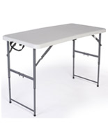 Folding Table with Adjustable Height