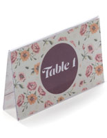 Cheap Place Card Holders Table Tent