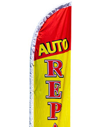 Automotive Feather Flag