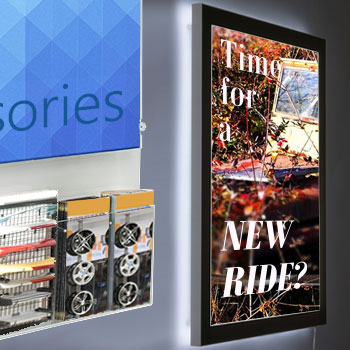 automotive poster display frames