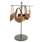 Purse Rack Stand with Rotating Arms