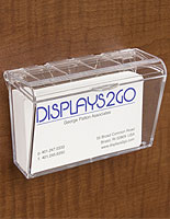 Wall mount business card holders hanging pocket dispensers business card holder colourmoves