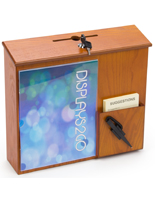 Wall Mounted Suggestion Box with Lock