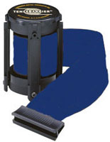 Blue 7 1/2' Replacement Belt For Tensabarrier Stanchions