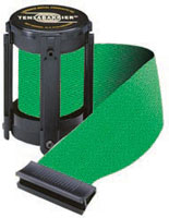 Green 7 1/2' Replacement Belt For Tensabarrier Stanchions