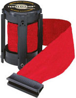 Red Colored 7 1/2' Replacement Belt For Tensabarrier Stanchions