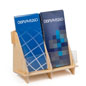 2 Pocket Brochure Holder for Travel Agencies
