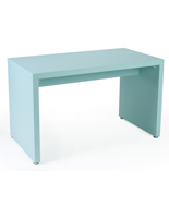 Light Blue Rectangular Small Nested Retail Table Display